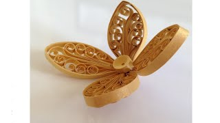 getlinkyoutube.com-Quilling Flower Using Comb and Pillow