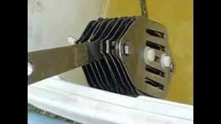 getlinkyoutube.com-067 HHO 21 Plate Cell, insane Hydrogen Production