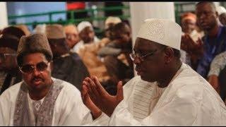 Le condoleances de Macky Sall a Ahmed Khalifa Niass, Sidy Lamine était un acteur majeur de la
