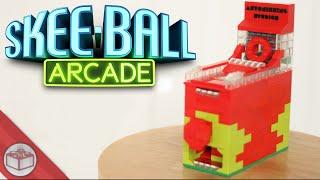 getlinkyoutube.com-LEGO Mini Skeeball Machine