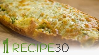 getlinkyoutube.com-Italian cheesy garlic bread recipe