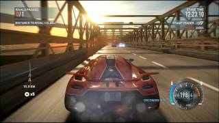 getlinkyoutube.com-Need For Speed The Run ASTON MARTIN One-77 vs Koenigsegg Agear R
