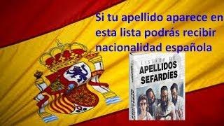 getlinkyoutube.com-Listado de apellidos para la nacionalidad española / Requisitos