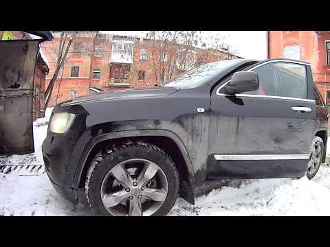 Авторемонт Jeep Grand Cherokee 3.6 L Замена ступицы и тормозных накладок