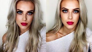 Easy Spring Makeup | Bold Lip & Neutral Eyes | Chloe Boucher