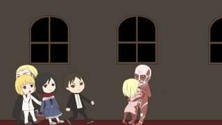 getlinkyoutube.com-【進撃手描き】Mrs.Pumpkinの滑稽な夢【みんなでハロウィン!】