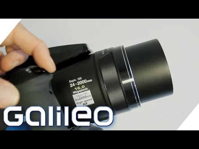 Superzoom-Kamera im Test | Galileo Lunch Break