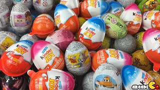 getlinkyoutube.com-200 Surprise Eggs Disney Cars Tom and Jerry Peppa Pig Disney Princess Mickey Mouse Adventure Time