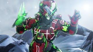 Halo 5 - Survive The Mountain // Customs Hopping #5