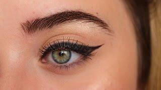 getlinkyoutube.com-Kolay Eyeliner Çekme Yöntemleri I Gamze Ekşi