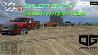 getlinkyoutube.com-Farming Simulator 2015- Salem South Dakota USA Map Tour!