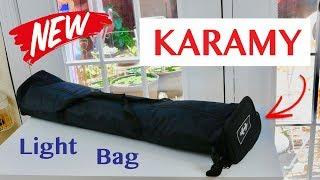 😍    KARAMY  KSB-B105 Studio Lighting Set Carry Bag - Review   ✅