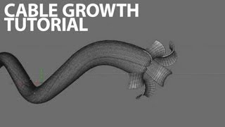 getlinkyoutube.com-Cinema4D Tutorial: Paul Clements Style Cable Growth Animation (Intermediate)