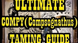getlinkyoutube.com-ARK: Survival Evolved - Taming Compy GUIDE   Taming Compsognathus Guide   How to Tame - 60fps