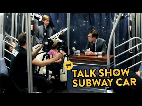 Talk Show Subway Car
