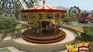 getlinkyoutube.com-Roller Coaster Tycoon World - Construindo Meu Parque De Diverção