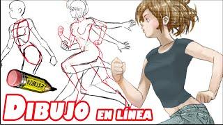 getlinkyoutube.com-Como dibujar el cuerpo girando