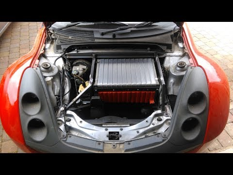 How to... Smart Roadster electric conversion - Battery install - Part 2