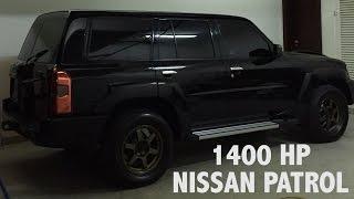 getlinkyoutube.com-1400 Horsepower Nissan Patrol in Dubai!
