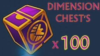 getlinkyoutube.com-Marvel Future Fight (iOS/Android) OPENING 100 DIMENSION CHEST'S