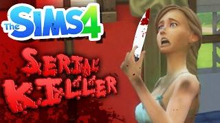 getlinkyoutube.com-MY FIRST KILL! | Serial Killer Challenge (The Sims 4)