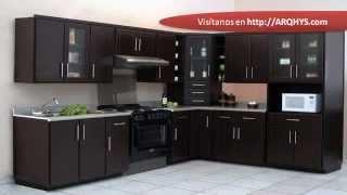 getlinkyoutube.com-Cocinas integrales para espacios pequeños