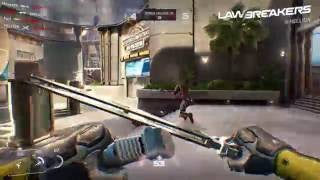 LawBreakers - Turf War Játékmenet