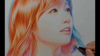 getlinkyoutube.com-박기철님그림♥Drawing 정은지 팬아트