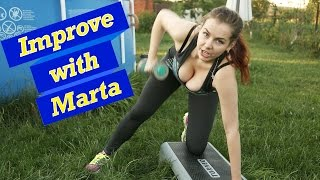 getlinkyoutube.com-Pull dumples in the slope  -  Improve with Marta