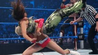 getlinkyoutube.com-SmackDown: Edge & Kelly Kelly vs. Dolph Ziggler, Michelle