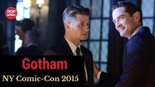 NYCC 2015: Ben McKenzie e James Frain de Gotham