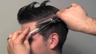 getlinkyoutube.com-Classic Tailored Men's Hair Cut