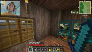 getlinkyoutube.com-ماين كرافت : سجن نساء هههههه #23|23# Minecraft FTB : d7oomy999