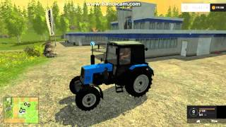 FarmingSimulator2015 обзор Трактор беларус 892