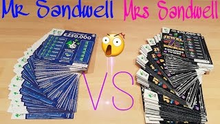 getlinkyoutube.com-Mr & Mrs Sandwell Scratchcard scratch Off