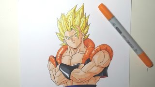 getlinkyoutube.com-Speed Drawing Gogeta Ssj (HD) ゴジータ Ssj