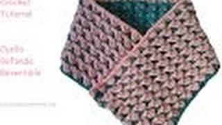 getlinkyoutube.com-Cuello Bufanda Crochet Reversible