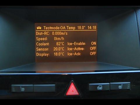 Расположение в Toyota Corsa датчика температуры антифриза