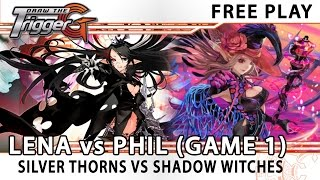getlinkyoutube.com-Lena's Silver Thorn Pale Moon VS Phil's Shadow Paladin Witch Deck Game 1 - Cardfight!! Vanguard
