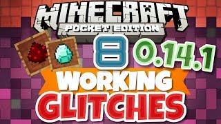 getlinkyoutube.com-✔️Minecraft PE | 8 WORKING GLITCHES - MCPE