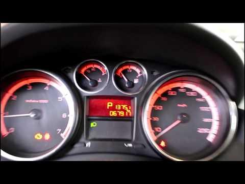 Датчик температуры живет своей жизнью Peugeot 408 1,6 Пежо 408 2012 года