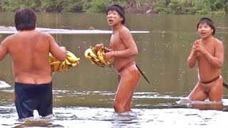 "getlinkyoutube.com-""Uncontacted"" Indians Emerge from Amazon Rainforest"