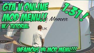 getlinkyoutube.com-GTA 5 ONLINE 1.31 | INFAMOUS v4 MOD MENU w/ TUTORIAL & DOWNLOAD