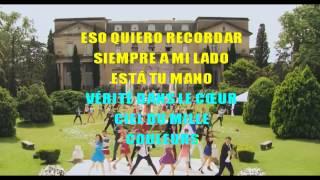 getlinkyoutube.com-Violetta 3- Crecimos Juntos (Karaoke + Letra + Casamiento)