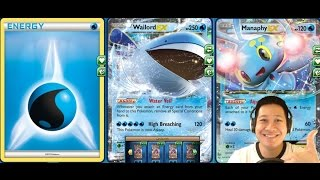 getlinkyoutube.com-Ultra High 290 HP Wailord Ex Deck, Heavy 120 Damage, Fast Set Up, and Max Potion Full HP Healing