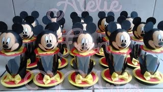 getlinkyoutube.com-CENTRO DE MESA DO MICKEY (ATELIÊ FRAN E.V.ARTES)