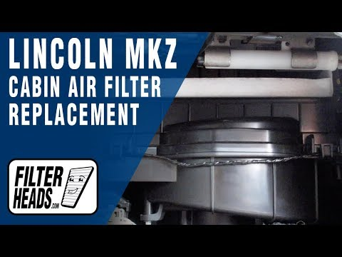 How to Replace Cabin Air Filter 2010 Lincoln MKZ