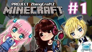 getlinkyoutube.com-Minecraft [ZbingcraftZ] # 1 : สอนแป้งเล่นมายคราฟ (Feat.Zbing Z & Gibpuri)