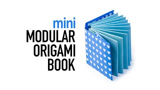 getlinkyoutube.com-Mini Modular Origami Book Tutorial