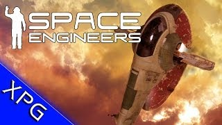 getlinkyoutube.com-Space Engineers - Slave 1 Speed Build - Star Wars Ship / Commentary